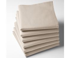La Redoute Interieurs Tovaglioli Tinte Unite Cotone Scenario 45 X 45 Cm
