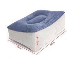 Audew Sofa Pouf Gonfiabile Cuscino Viaggio Relax Poggia Piedi Sedia Casa 40cmX29cmX15 Centimeter