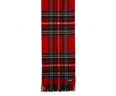 Coperta di lusso 100% puro cashmere plaid scozzese il Miglio Royal Collection, 702-ROYAL STEWART, 205 x 150mm