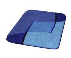 Kleine Wolke Ravenna 7284799360 - Tappetino da bagno, 60 x 100 cm, colore: Blu