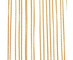 Wohntraum 1001 F05 - Tendina divisoria, 100 x 200 cm, colore: Arancione