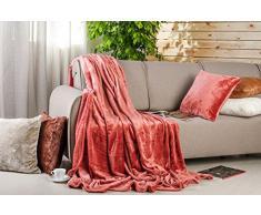 Sei Design coperta premium, sentimento cashmere più morbido, extra-grande 200x220 cm