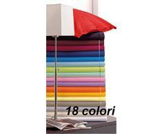 Lovely Home   Lenzuolo Sotto Con Angoli Misura Francese Cm 140x200 Tinta  Unita Tipo Ikea,