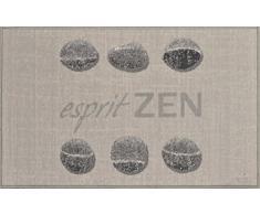 Cucina Carpet Douceur Dintérieur, 50 x 80 cm, Moquette Zen Esprit, 80 x 50 cm, Grigio