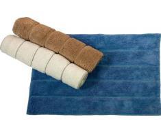 MAURER Tappeto bagno in cotone colore beige cm 50x70 Maurer