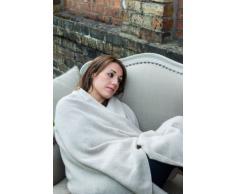 Love Cashmere Pregiata Coperta da Viaggio in Cashmere al 100% (Cashmere Blanket) - Nero - Realizzato a mano ad in Scozia