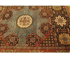 Indo Tabriz Tappeto Tappeto Orientale 302x200 cm, India Annodato a Mano Classic