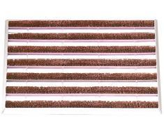Esschert design zerbini, spirali zerbino di cocco ferro, di circa 60 cm x 39 cm