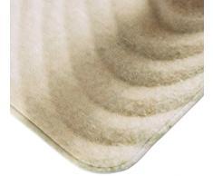 WENKO 20952100 Tappetino bagno Sand and Stone - scendibagno , Poliestere, Multicolore