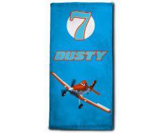 Disney Asciugamano Spugna Planes Blu 50 x 100 cm