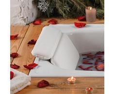 Cuscino poggiatesta per vasca da bagno e per vasca idromassaggio Ottimo cuscino per il collo cuscino relax cuscino rilassante cuscino comfort ZenHome Cuscino per vasca da bagno