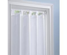 mDesign Asta Tenda Allungabile – Bastone Telescopico per Tende ideale per doccia, finestre o armadi – allungabile da 48,3 cm fino a 76,2 cm – colore: banco