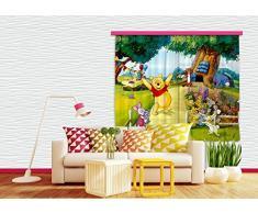 Winnie The Pooh - Garden Party with Piglet, Tigger, Eeyore And Rabbit Tenda (180 x 160cm)