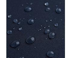 Breaker Teflon - tessuto in poliestere con un rivestimento acrilico - stoffa al metro (azzurro marino)