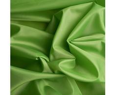 Tessuto taffetá di ottima qualità - superficie lucida nobile - stoffa al metro (verde mela)