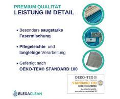 Strofinacci ELEXACLEAN (3 pezzi, 68x42cm, grigio) Canovacci da cucina in microfibra - OEKO-TEX® STANDARD 100