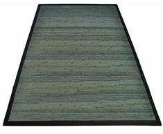 Parquet tappeto passatoia in Bambu varie misure. - GRIGIO VERDE, 60x150 cm.