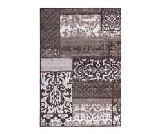 Andiamo 1100412 tappeto Class iQue, Ornament modello stile Vintage, 80 x 150 cm, 100% poliammide, colore tortora