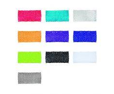 Wenko 20264100 Tappeto vasca Paradise trasparent, Materiale plastico, Trasparente