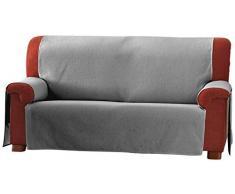 Eysa 3-Squares Zoco - Copridivano 3 posti, colore: 26-grigio, plastica;tela
