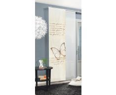 Home fashion Kolari Tenda a Pannello, Poliestere, Nature, 245 x 60 cm