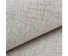 novely Auen | 1 Lfm | Premium Tessuto Mobili | Tessuto | Bene Tessuto Tessuto Tappezzeria | Merce al Metro | Stoffa Rivestimento | Tessuto | 23 Colori - 12 Turchese Blu