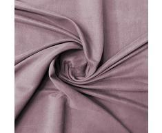 Tessuto Microfibra Altezza 150 cm Vendita al Metro Stoffa Ideale per Rivestimenti (Rosa Cipolla)