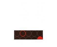 ABC Tappeto La Cucina Opty Brown-Orange 57 x 200 cm