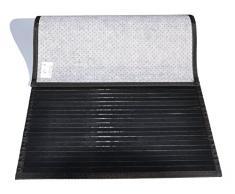 Bambù liscio tappeto passatoia cm 60x300 [VIOLA]