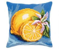 Collezione d Arte Cuscino Kit/maturo limone/40 x 40, Multi, 40 x 40 cm