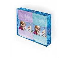 Disney 61722 - Set 2 Asciugamani Frozen Elegance