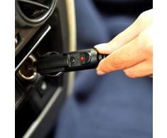 Lembeauty Portatile 12 V Auto elettrica in Morbido Pile Coperta Confortevole Coperta Termica da Viaggio termostato per Temperature Fredde, 150 x 110 cm