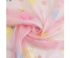 Tenda Disney Principesse Princess Velo al metro altezza 300 cm - Rosa M756