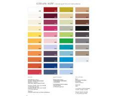 fleuresse colours 9100-2610 Federa per cuscino cilindrico, 100% cotone (satin di cotone makò), 40x15 cm, tinta unita, colore: Ecru