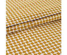 La Redoute Interieurs Copripiumone In Percalle Di Cotone, Cravate Jaune 200