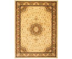 Carpeto Rugs Tappeto 60 x 100 cm bianco Orientale Classico Iskander Collezione