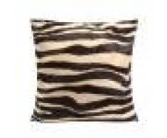 Copricuscino Con Motivo Pelle Zebra Fodera Cuscino Decorativo Per Divano Letto 45x45cm