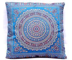 """Di seta del cuscino decorativo Cuscino India 40x40 cm (16""""x16"""") divano tessili per la casa"""