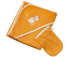 Easy Baby 360-77 - Asciugamano in spugna con cappuccio