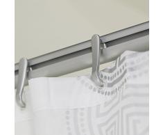 Sealskin Easy Roll 12 Ganci per Tenda della Doccia, Materiale Plastico, 2,3 x 5,2 x 1 cm