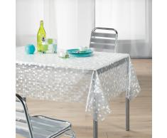Décor Ligne, Tovaglia di plastica trasparente, Mosaico Stampato , 140 x 240 cm