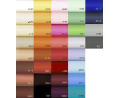 fleuresse 1115-6056 Lenzuolo con angoli elasticizzati, 120% cotone, 100x200 cm, colore: Blu