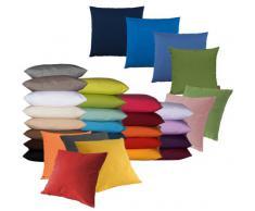 Set di 2 copricuscino per divano salotto - Dimensione: 40x40cm - Colore: Verde kiwi