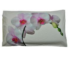 Federa cuscino letto stampa fotografica Orchidea