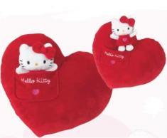 Cuscino hello kitty Cuore rosso