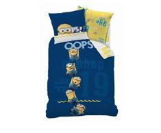 Biancheria da letto biancheria da letto per bambini 140 x 200 cm Minion (Oeko Tex Standard 100)
