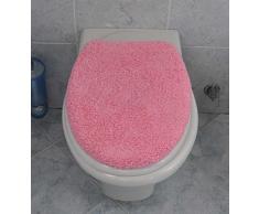 Copri asse wc velluto cm 50X45 - VISONE