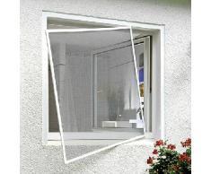 Xclou, Zanzariera per finestra, telaio in alluminio, 345519