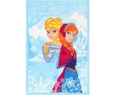 Disney Action Line Frozen Tappeto, Materiale Sintetico, Multicolore, 80.0 x 140.0 x 1.12 cm