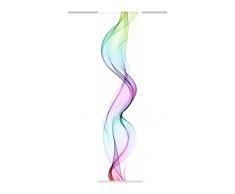 Home fashion Edmonton Tenda a Pannello, Poliestere, Multicolore, 245 x 60 cm
